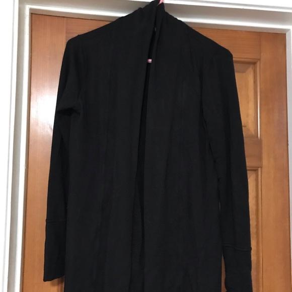 Cynthia Rowley Sweaters - Black long sleeve sweater cardigan